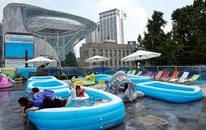 서울건축도시관옥상 (서울마루) 물놀이장