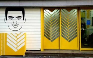 외벽디자인 개선 전→후 : 리얼씨리얼 x 해우 예술가(점주지출실비 320,000원/ 외벽페인팅 등 6개 프로젝트 실시)