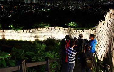 서울시가 '한양도성 달빛기행'을 9월~10월 총 4회에 걸쳐 진행한다