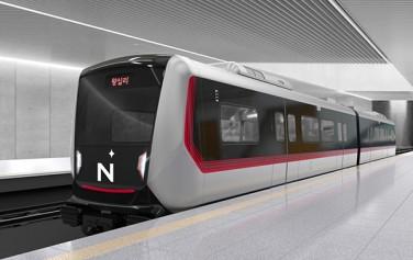 왕십리~상계를 잇는 '동북선 도시철도' 사업이 첫 삽을 뜬다. 사진은 차량 외형 조감도