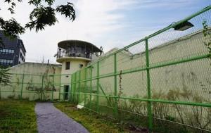 수감자들을 감시하던 망루