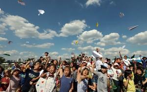 '한강 종이비행기 축제'가 10월 13일 여의도한강공원에서 열린다.