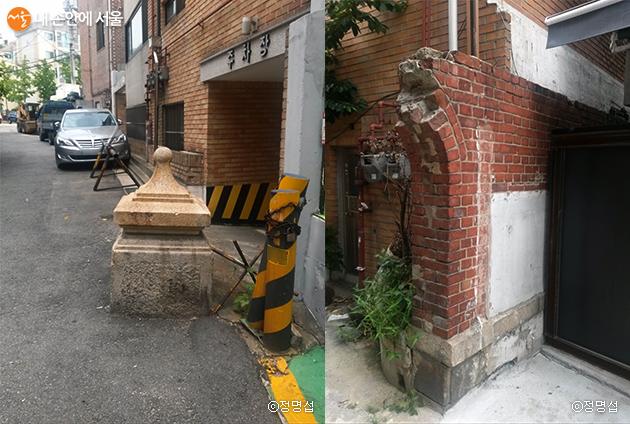 벽수산장의 흔적들
