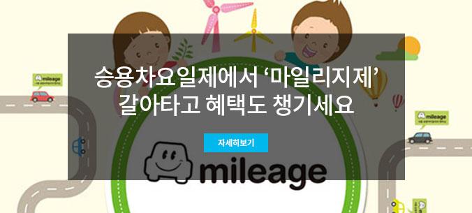 서울시는 내년부터 '승용차요일제'를 '승용차마일리지제'로 일원화한다