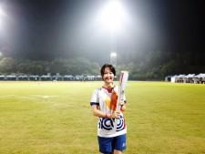 성화 퍼포머로 100회 전국체전에 참여하다