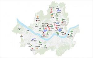 서울시 도시재생활성화지역 (도시재생활성화지역 지정 39개소, 2019년 신규선정 8개소)