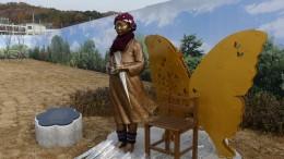 강서구 마곡유수지에 세워진 평화의 소녀상