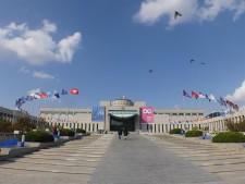 용산구 이태원로에 자리한 전쟁기념관 전경