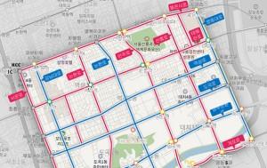 서울 강남 자율주행 실증도로