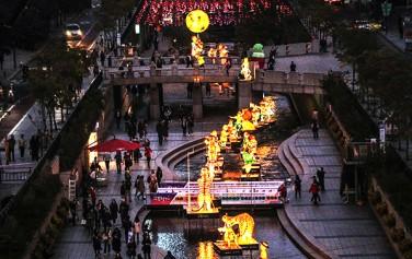 '2019 서울빛초롱축제'가 오는 11월 1일부터 11월 17일까지 17일간 청계천에서 열린다