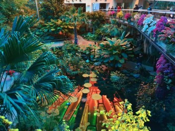아름다운 서울식물원 온실이다.