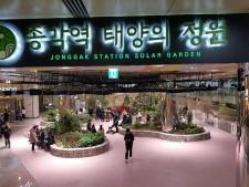 종로구에서 종로타워 지하에 새로 생긴 '태양의 정원'이 이제 새로운 인기 만남의 장소 중 하나로 떠오르고 있다.