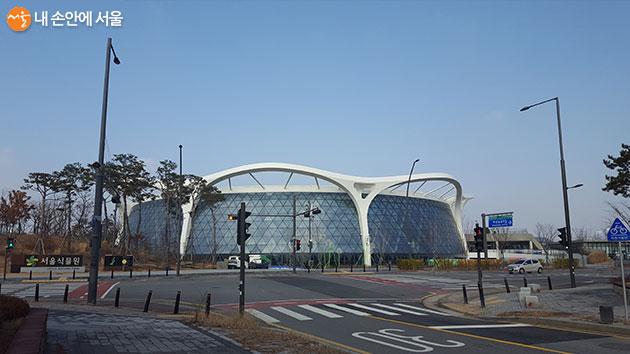 강서구 마곡동 서울식물원 입구 전경
