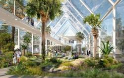 스몰웨딩, 공연 같은 이벤트가 열리고, 정원교육 공간으로 활용될 '클린 에어 파빌리온'