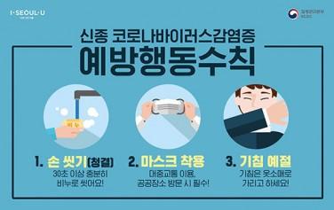 신종코로나바이러스감염증예방행동수칙