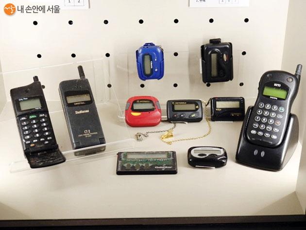 90년대 인기를 끌었던 통신제품들
