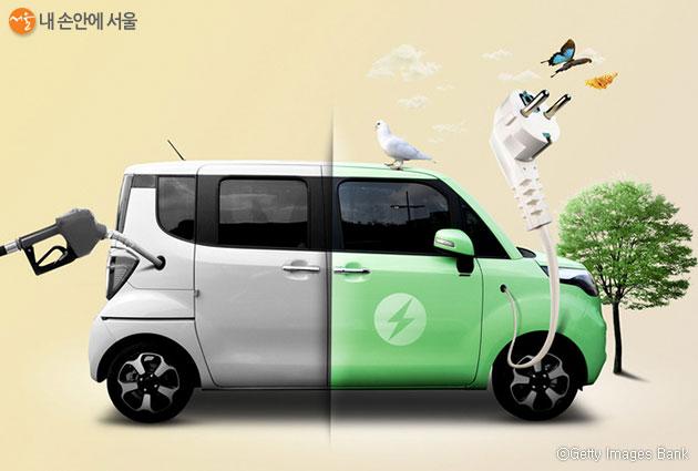 서울시는 올해 1만대 보급을 목표로 2월 17일부터 전기차 보조금 접수를 받는다