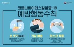 신종코로나바이러스예방행동수칙