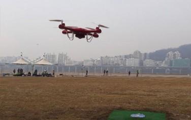 광나루한강공원 내에 위치한 한강드론공원에서는 안전하게 드론 비행이 가능하다
