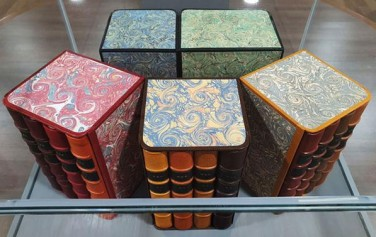 '박경리의 토지'를 박성희님이 예술 제본으로 재탄생시킨 책들