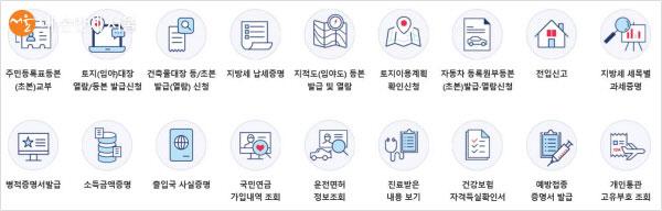 정부24 홈페이지에서는 다양한 증명서를 수수료 없이 출력이 가능하다