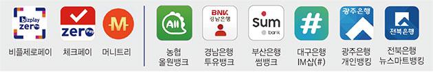 서울사랑상품권 결제앱 (9개 앱)