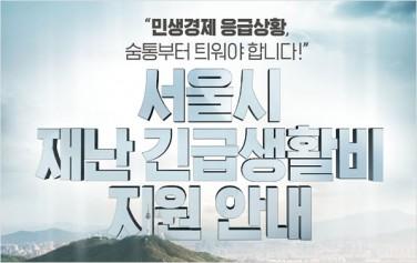 서울시 재난긴급생활비 접수가 3월 30일부터 시작된다