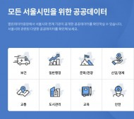 누구나 볼 수 있는 서울시의 정보. 이곳에서 확인하자