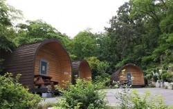 초안산 캠핑장에 있는 캐빈 하우스