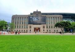 5월 26일부터 서울도서관 자료실 대출반납서비스가 재개됐다. 코로나 이후 바뀐 서울도서관 자료실 모습.