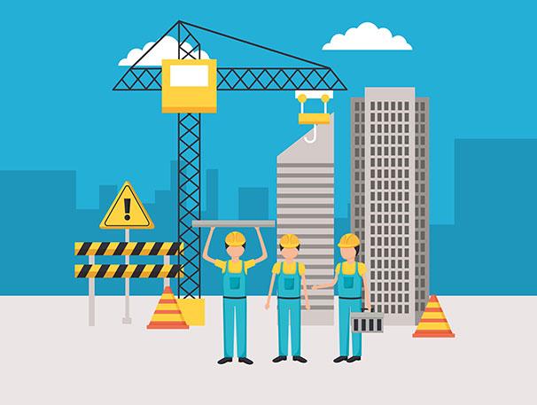 전국 최초 건설노동자 사회보험료 전액 지원