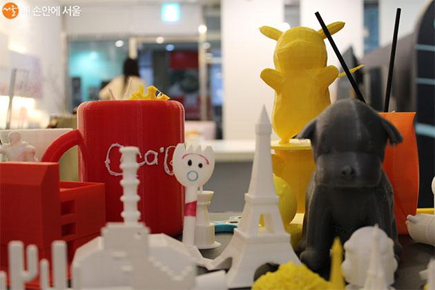 짧게는 30분에서 30시간까지 걸리는 3D 프린터 결과물