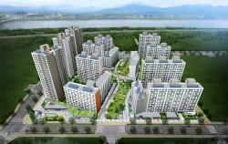 서울주택도시공사가 총 2,316세대의 장기전세주택 입주자를 모집한다. 사진은 고덕강일 4단지.