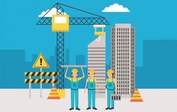 서울시는 전국최초로 건설노동자 사회보험료‧유급휴가를 지원하는 '건설일자리 혁신'을 추진한다