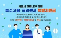 서울시코로나19피해특수고용프리랜서특별지원금