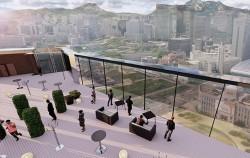 더플라자호텔 옥상층 개방형 전망대 조성안