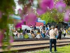 거리예술축제를 구경하는 시민들