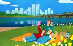 민주주의 서울에서는 한강공원을 안전하게 이용할 수 있는지에 대한 시민토론이 이루어지고 있다