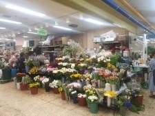 양재꽃시장 화훼판매장