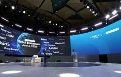 감염병 극복을 위한 온라인 국제회의 'CAC 글로벌 서밋 2020' 2일차를 맞아 42개 세계 도시 시장이 참여한 '도시정부 시장회의'가 열렸다.