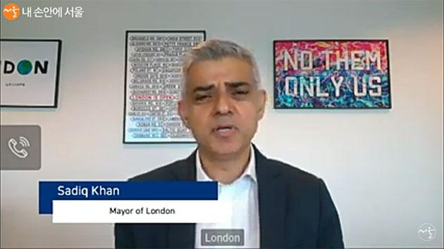 영국 사디크 칸(Sadiq Khan) 런던 시장