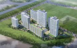 서울시가 고덕강일지구와 위례지구에서 국민임대주택 2,519세대를 공급한다. 사진은 위례지구3블럭 조감도.