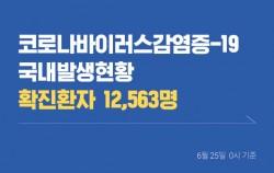 [6월 25일] 코로나바이러스감염증-19 국내 발생 현황