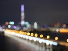 강변테크노마트, 강변테크노마트하늘공원, 야경명소, 한강조망