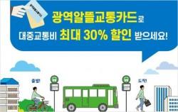 서울시는 7월 17일부터 '광역알뜰교통카드 마일리지 지원사업'을 본격 시행한다