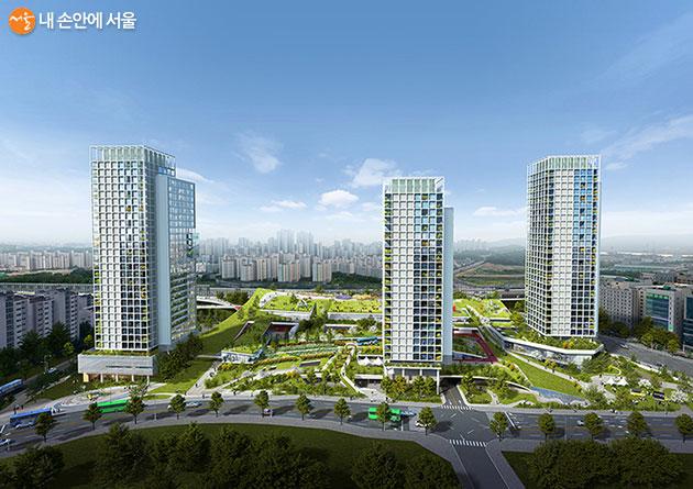 지역주민을 위한 대규모 공원
