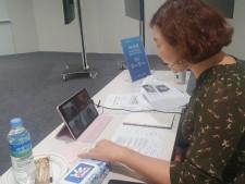 온라인 직무 멘토링을 진행 중인 프로보노의 모습