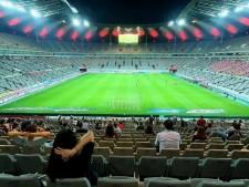 8월 7일, 서울월드컵경기장에서 코로나 19 이후 처음으로 유관중 축구 경기가 열렸다.
