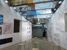 서울도시건축전시관에서 서울도시건축비엔날레 도시전 리뷰전이 진행중이다. 끊임없는 변화에 대처하는 도시의 역동성을 보여준다.