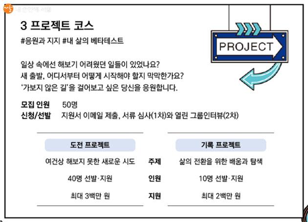 프로젝트 코스에 대한 세부사항